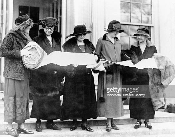 In 1923 the Minnesota League of Women Voters collected a mile of signatures in support of the nation's entrance into the World Court The league...