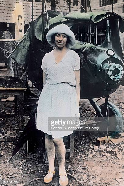 In 1930 English pilot Amy Johnson became the first woman to fly solo from England to Australia winning £10000 from the 'Daily Mail' newspaper Her...