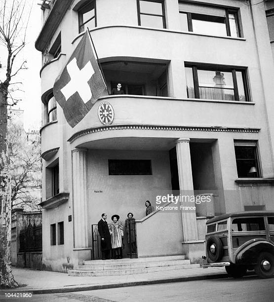 In 1943 The Ica Villa In Vichy Welcomes The Swiss Legation After Being The Residence Of The Ambassador Of The UnitedStates
