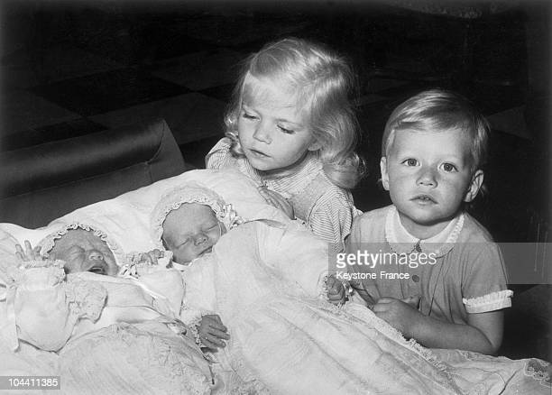 In 1957 Princess MARIE ASTRID and Prince HENRI of Luxembourg children of crown Duke JEAN of Luxembourg and his wife the Duchess JOSEPHINE CHARLOTTE...
