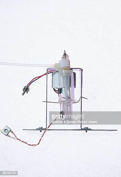 In 1960 A W Brewer developed his mast ozonesonde for measuring the ozone in the stratosphere The device was heavier than the lightweight instruments...