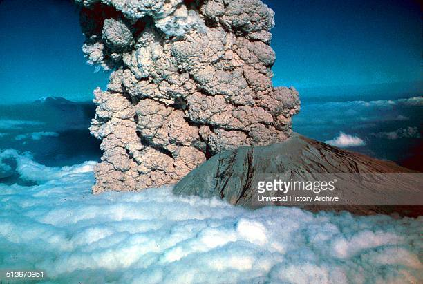 In 1980 a major volcanic eruption occurred at Mount St Helens a volcano located in state of Washington in the United States