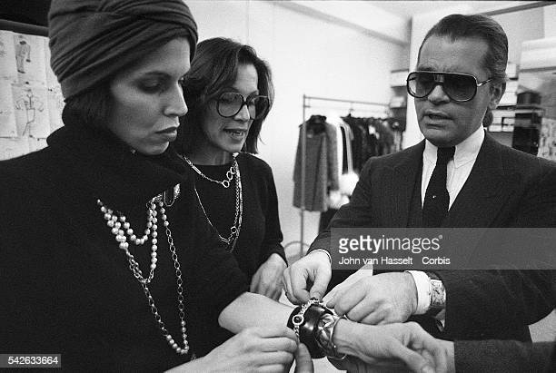 In 1983 Karl Lagerfeld joined Chanel as its chief artistic director fashion designer A year later March 5 1984 he finishes his new Haute Couture...
