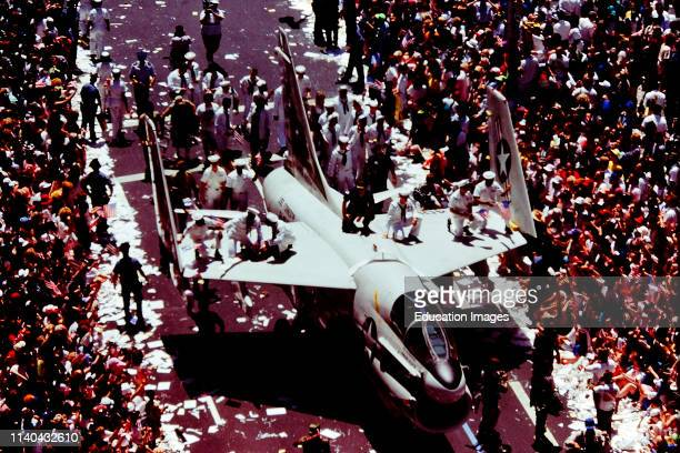In 1991 New York City threw a military parade to celebrate the end of the Gulf War.