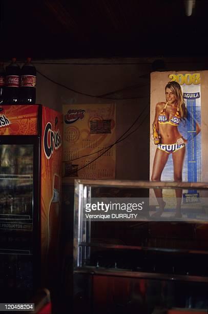 In a Bar of Mongui Village Boyaca Colombia