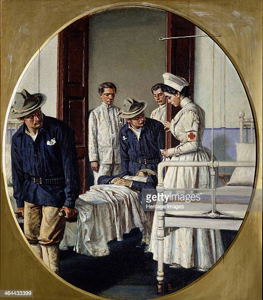 In a Military Hospital 1901 Found in the collection of the Regional W Wereshchagin Art Museum Mykolaiv
