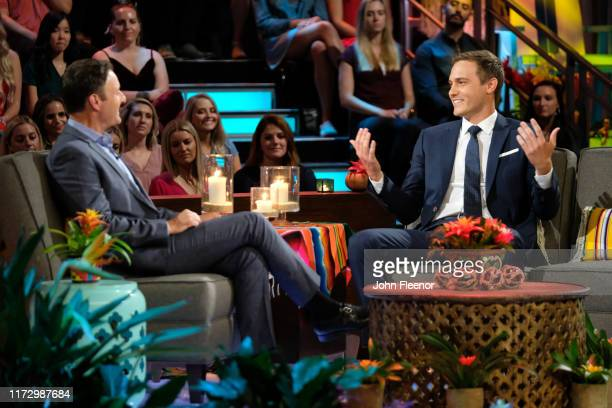 PARADISE 607 In a moving and stunning threehour season finale Chris Harrison and a studio audience watch as the four remaining couples Demi and...