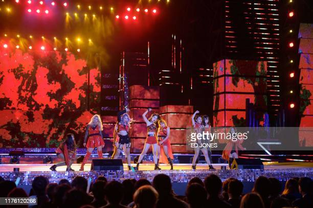 In a photo taken on October 11 competitors from Cambodia perform at the 'Kpop World Festival' in Changwon At the grandly titled and governmentfunded...