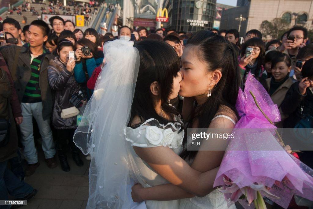 CHINA-SOCIETY-GAY : News Photo