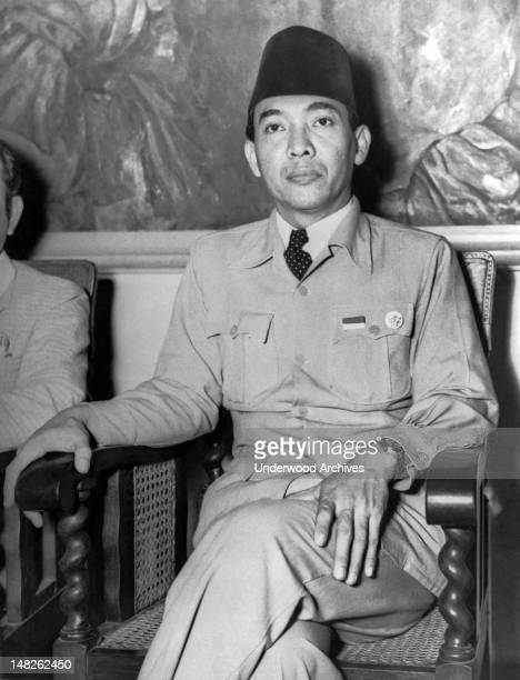 In a radio broadcast today President Sukarno called upon the Indonesians to defend themselves from the Dutch in this struggle for freedom Jogjakarta...