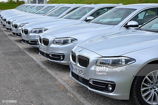 BMW 5 in a row