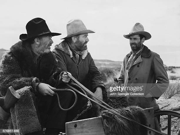 In a scene early from the film My Darling Clementine Wyatt Earp first meets Old Man Clanton and his son Ike Clanton
