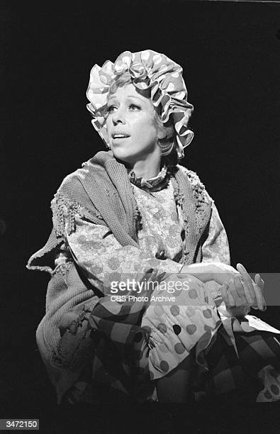 In a scene from 'The Carol Burnett Show' American comedienne and actress Carol Burnett portrays the Charwoman January 15 1971