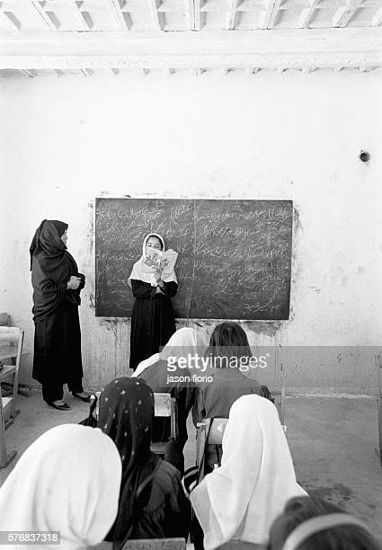 In a school for refugee children