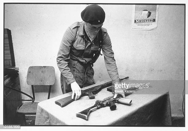 In a secret location in County Donegal in the Irish Republic a trainee member of the Provisional Irish Republican Army goes through assault rifle...