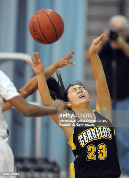 Scott Varley Los Angeles Newspaper Group In a Suburban League girls basketball matchup Mayfair beat Cerritos 5844 After being fouled Cerritos' Alyssa...