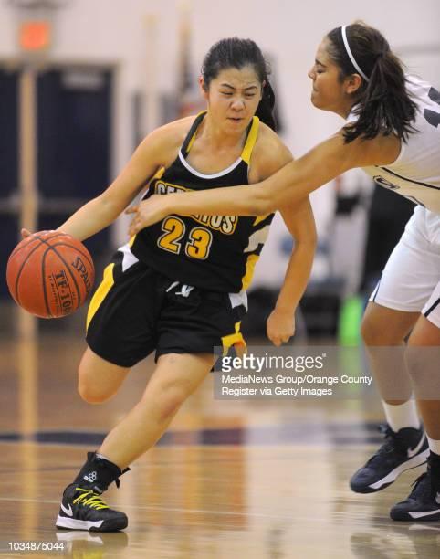 Scott Varley Los Angeles Newspaper Group In a Suburban League girls basketball matchup Mayfair beat Cerritos 5844 Cerritos' Alyssa Movchan avoids the...