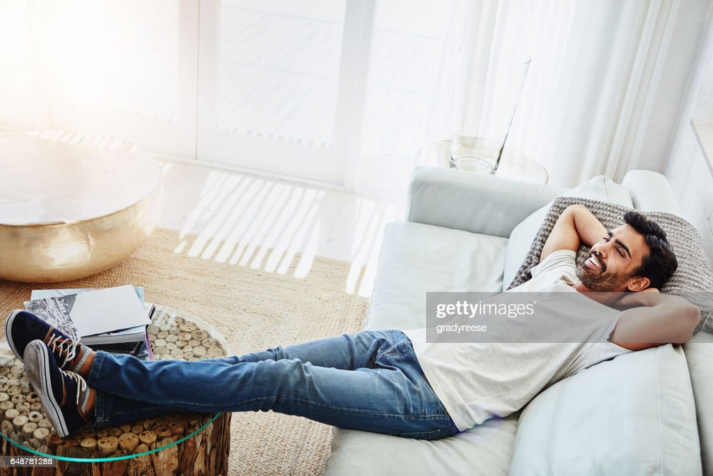 In a Sunday state of mind : Stock Photo