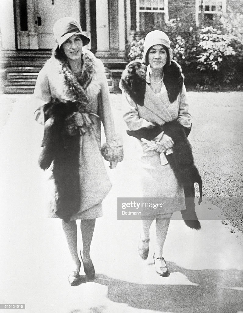 portrait of anne and elizabeth morrow pictures getty images