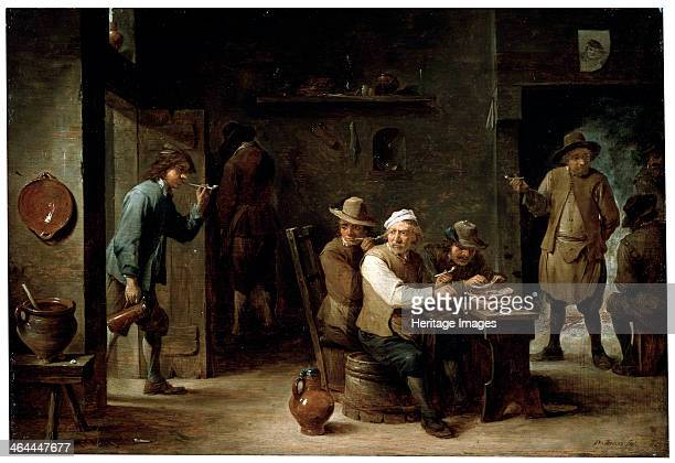 'In a Tavern' 1640s Teniers David the Younger Found in the collection of the State A Pushkin Museum of Fine Arts Moscow