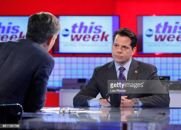 STEPHANOPOULOS In a 'This Week' Exclusive George Stephanopoulos goes oneonone with former White House Communications Director Anthony Scaramucci in...