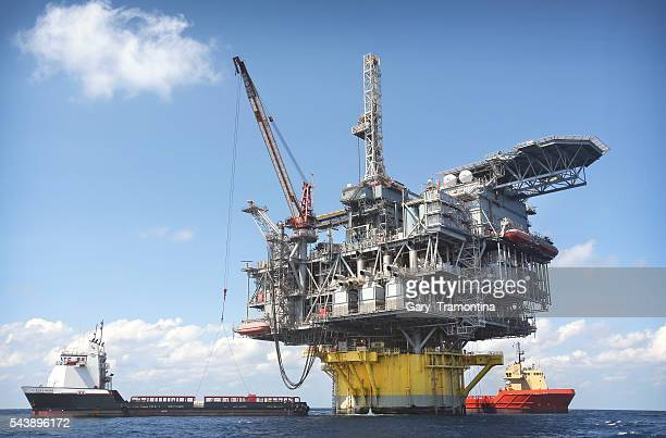 In about 8000 feet of water Shell's Perdido offshore drilling and production platform is the world's deepest offshore rig Shown in this 2012 photo it...