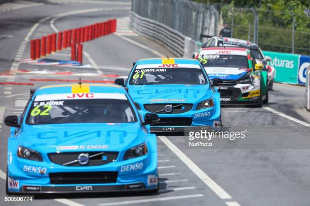 in action during the Free Practice of FIA WTCC 2017 World Touring Car Championship Race of Portugal Vila Real June 24 2017