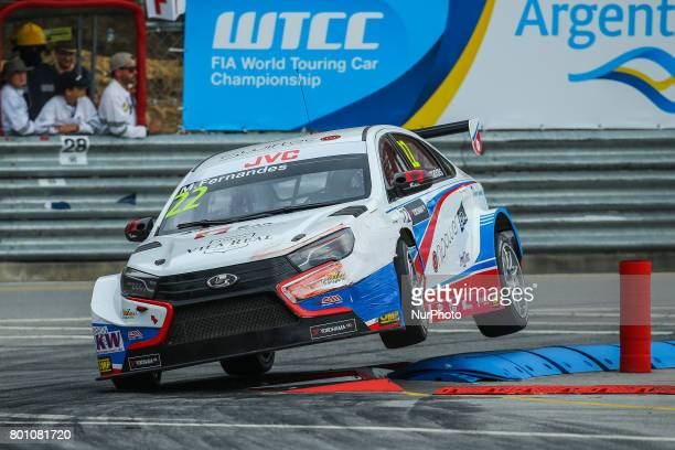 In action during the Race 2 of FIA WTCC 2017 World Touring Car Championship Race of Portugal, Vila Real, June 25, 2017.