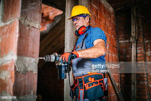 in action - drill stock pictures, royalty-free photos & images