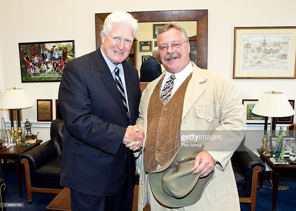 In advance of tomorrows house appropriations committee vote on environmental program cuts teddy roosevelt impersonator