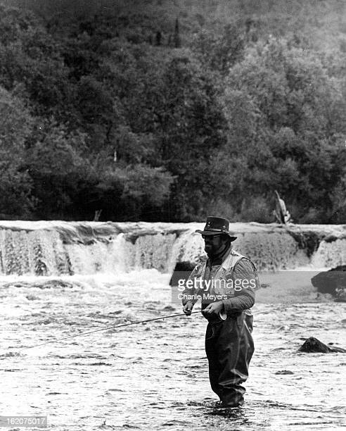 SEP 20 1978 SEP 21 1978 In Alaska Scenery Can Be Almost As Impressive As The Fishing Brooks River Falls form a spectacular backdrop for angler Ed...