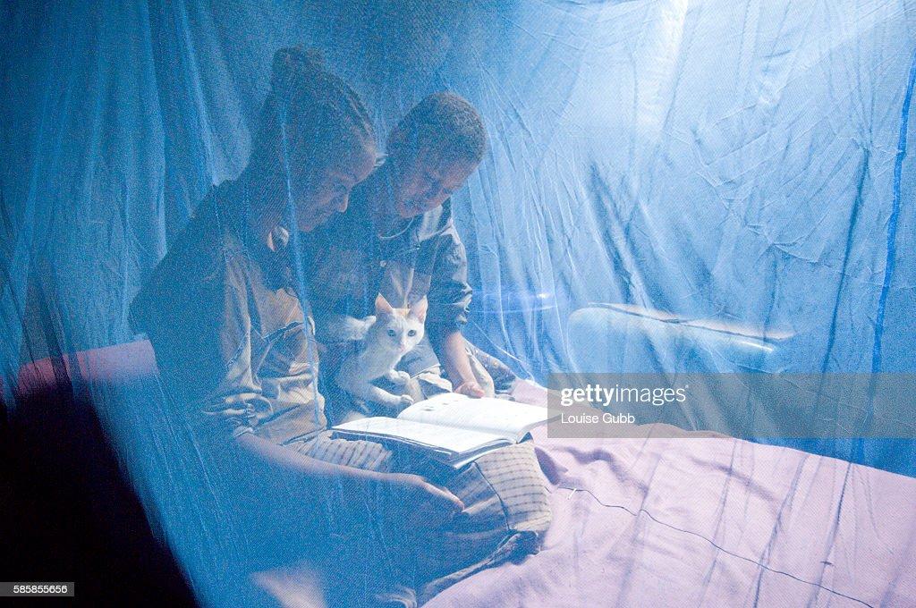 Ethiopia - Malaria Prevention - Bednets : News Photo