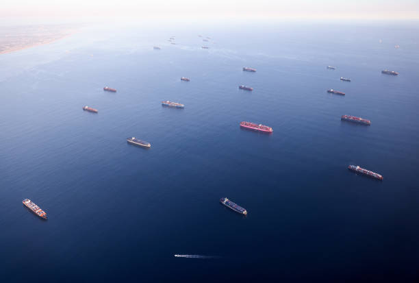 CA: Logjam Of Container Ships Clog Southern California Ports