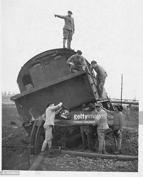 In an attempt to force French and Belgian troops out of the Ruhr Valley Germany sabotaged their own railroads The foreign troops began occupying the...