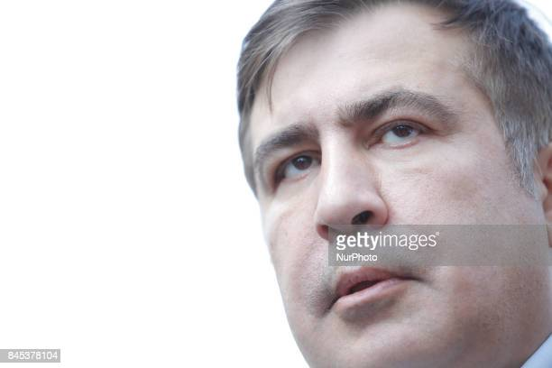 In an attempt to reenter Ukraine a media frenzy follows when former Georgian president Mikhail Saakashvili attempts to cross the border in Krakowiec...