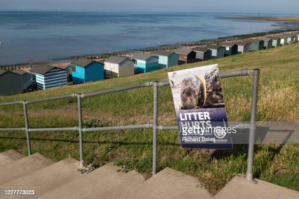 In an attempt to stop the littering of the borough's beaches Canterbury City Council posters have appeared along the northern Kent coast of the...