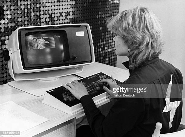 In an early attempt at ecommerce the department store Barkers of Kensington offered a computeraided service at Christmastime 1980 The customer...