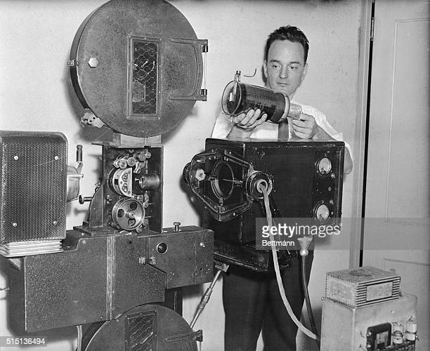 In an effort to test the feasibility of television in the home a demonstration over a wire unit and radio unit was held at the Farnsworth Television...