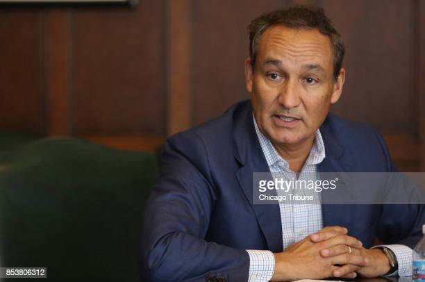 In an interview with 'Good Morning America' United Airlines CEO Oscar Munoz said he felt 'shame' when watching viral videos of a passenger being...