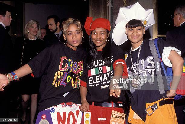 TLC in an undated file photo Lisa Left Eye Lopes was killed in a car crash in the Honduras April 25 2002