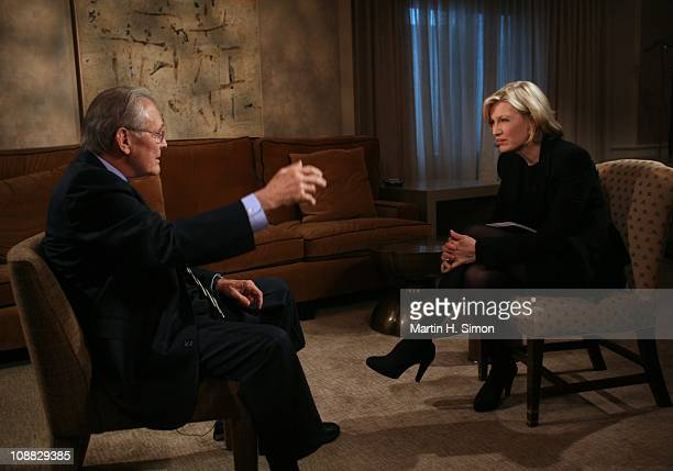 SAWYER In an ABC News exclusive Diane Sawyer talks to former Defense Secretary Donald Rumsfeld in his first television interview since leaving public...