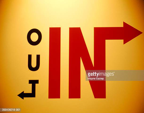 In and out signs