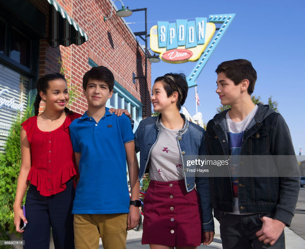 MACK - In 'Andi Mack,' a series about a 13 year-old girl and her friends each figuring out who they are, the teen characters model inclusion and respect for others.