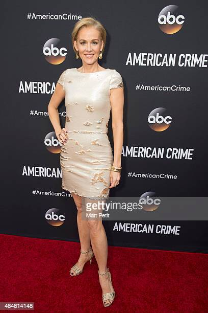 EVENT In anticipation of the premiere of ABC's groundbreaking new television drama cast members and executives from 'American Crime' were in...