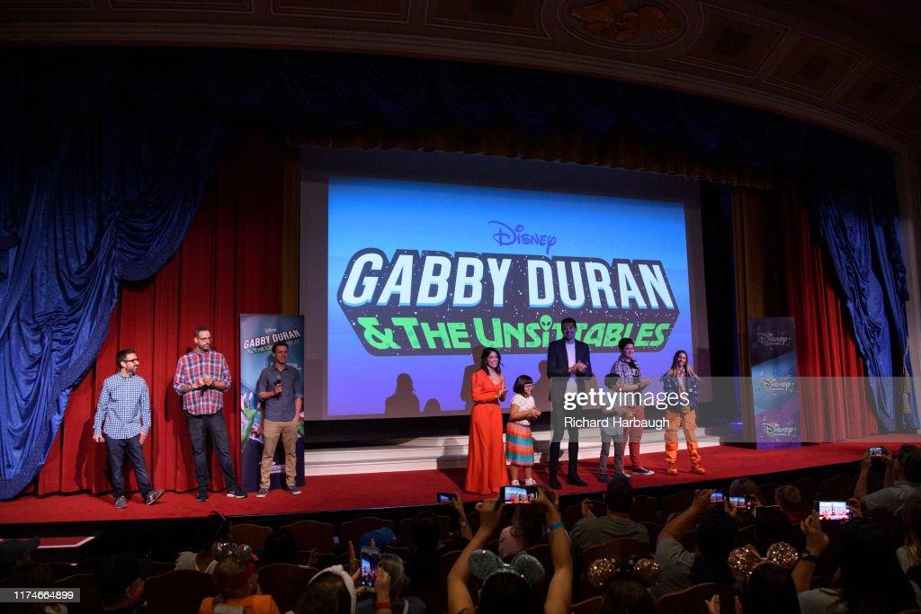 "Disney Channel's ""Gabby Duran & The Unsittables"" - Season One : News Photo"