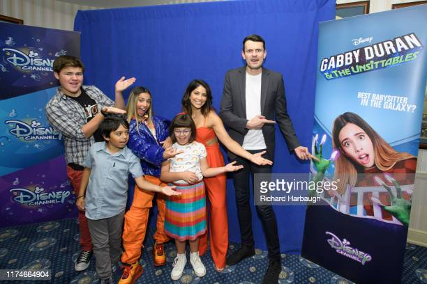 UNSITTABLES In anticipation of the series premiere of Gabby Duran The Unsittables the show's stars Kylie Cantrall Maxwell Acee Donovan Coco Christo...