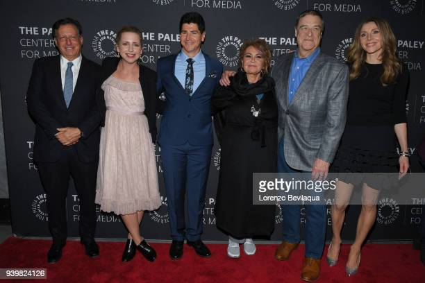 ROSEANNE In anticipation of the show's revival for a 10th season the ROSEANNE cast gathered for an episode screening and QA panel at the Paley Center...