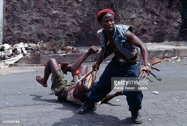 In April 1996 the Liberian State Council sent policemilitia to arrest Prince Roosevelt Johnson on murder charges As a result fighting broke out in...