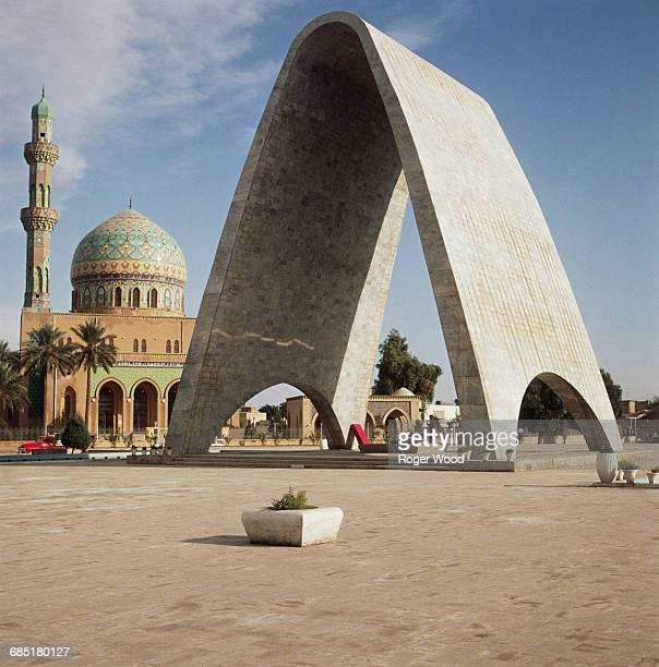 In Baghdad lies the Tomb of the Unknown Soldier and the Al Wya Mosque