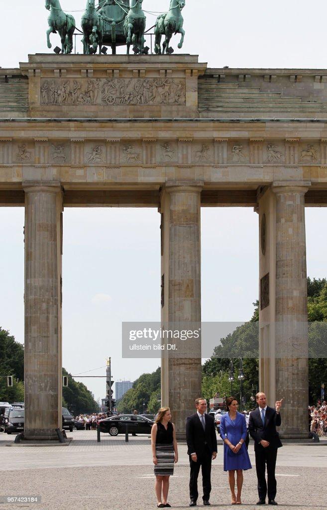 Britische Botschaft Berlin : News Photo